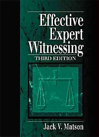 Effective Expert Witnessing