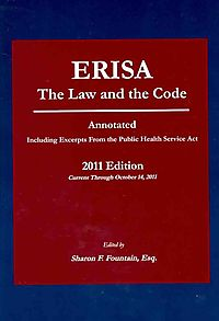 ERISA The Law and the Code 2011