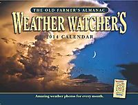 The Old Farmer's Almanac Weather Watcher's 2014 Calendar