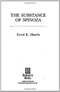 The Substance of Spinoza