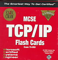 McSe Tcp/Ip Flash Cards