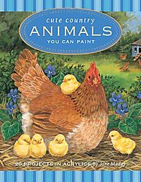 Cute Country Animals You Can Paint
