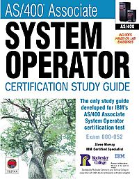 As/400 Associate System Operator Certification Guide