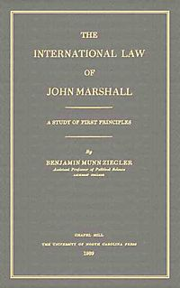 The International Law of John Marshall