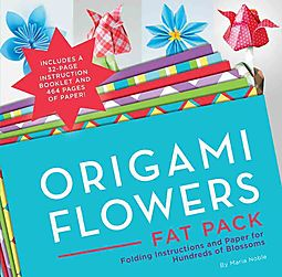 Origami flowers super paper pack noble maria 9781589238985 hpb origami flowers super paper pack mightylinksfo