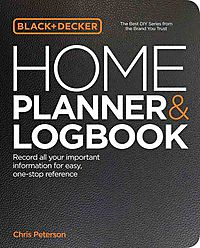 Black & Decker Home Planner & Logbook