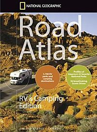 National Geographic Road Atlas Rv & Camping Edition