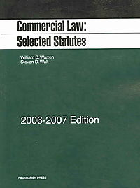 Commercial Law 2006-2007
