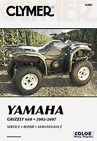 Clymer Yamaha Grizzly 660 2002-2007