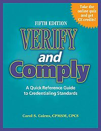 Verify and Comply