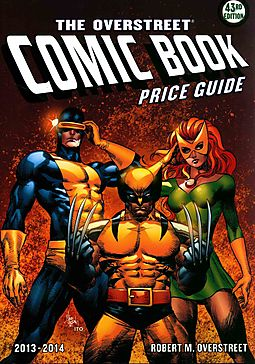 the overstreet comic book price guide 2013 2014 overstreet robert rh hpb com Classic Illustrated Price Guide Overstreet 43 Hero
