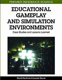 Educational Gameplay and Simulation Environments