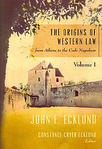 The Origins of Western Law from Athens to the Code Napoleon