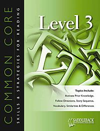 Common Core Skills & Strategies for Reading, Level 3