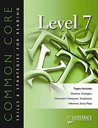 Common Core Skills & Strategies for Reading, Level 7