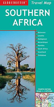 Globetrotter Travel Map Southern Africa