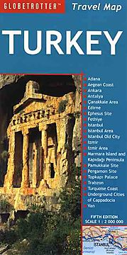 Globetrotter Travel Map Turkey