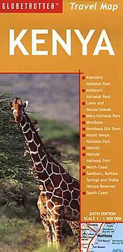 Globetrotter Kenya Travel Map