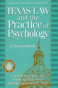 Texas Law and the Practice of Psychology