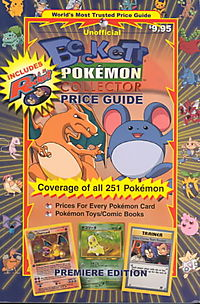 Beckett Pokemon Collector Price Guide