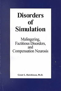 Disorders of Simulation
