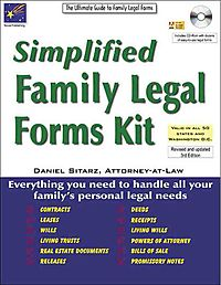 Simplified Family Legal Forms Kit