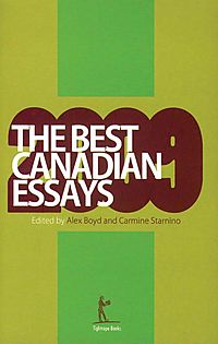 The Best Canadian Essays 2009