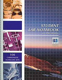 Student Lab Notebook Spiral Bound