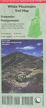 White Mountains Trail Map Franconia-Pemigewasset