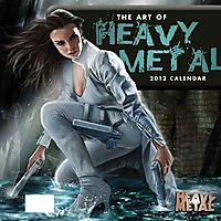 The Art of Heavy Metal 2012 Calendar