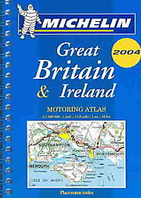 Michelin 2004 Great Britain & Ireland Mini Motoring Atlas