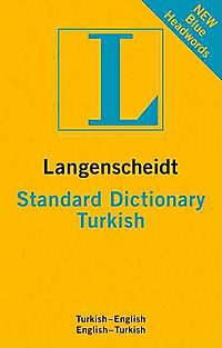 Langenscheidt New Standard Turkish Dictionary