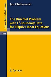 The Dirichlet Problem With L2-boundary Data for Elliptic Linear Equations