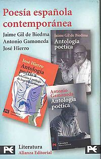 Poesia espanola contemporanea/ Contemporary Spanish Poetry