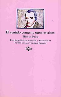 El sentido comun y otros escritos / Common Sense and other Writings