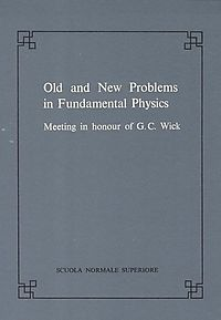 Old and New Problems in Fundamental Physics