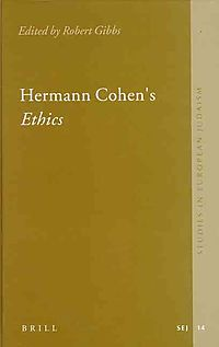 Hermann Cohen's Ethics