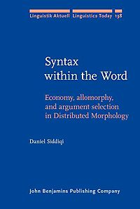 Syntax Within the Word