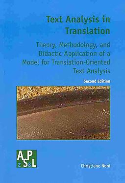 Text analysis in translation nord christiane for Christiane nord